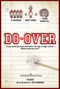 DO-OVER Notebook Poster Border Small