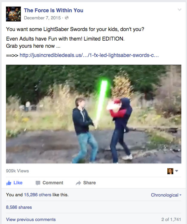 Lightsaber duel reveals the secret to the future of filmmaking - Film Trooper - Filmmaking Freedom for the Independent