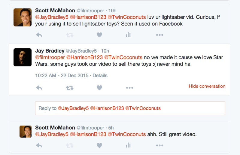 YouTube stars, Twin Coconuts have Twitter conversation with Film Trooper