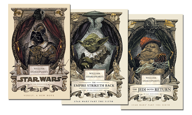 Film Trooper podcast interview with Ian Doescher, author of Shakespeare's Star Wars