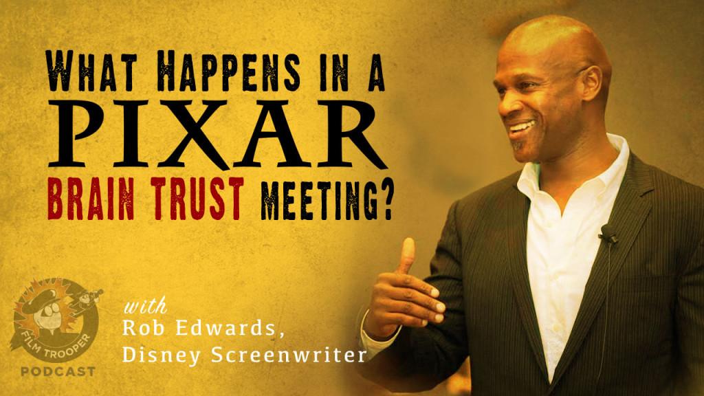 Film Trooper Podcast - Disney Screenwriter, Rob Edwards