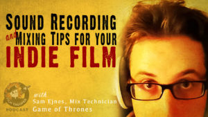 sound recording indie film
