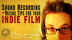 sound recording indie film
