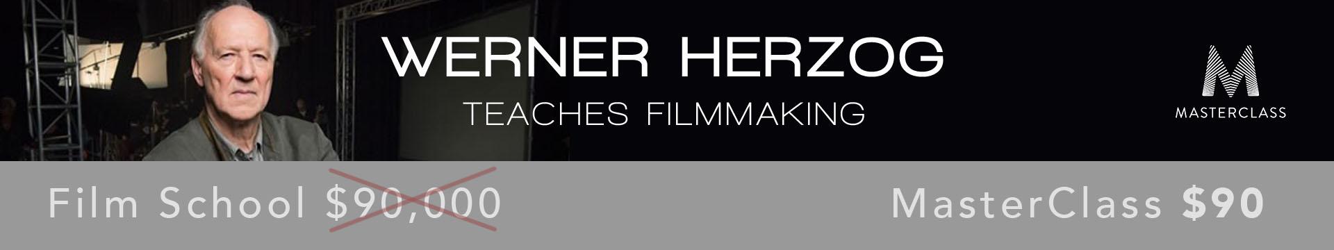 Master Class Banner Herzog