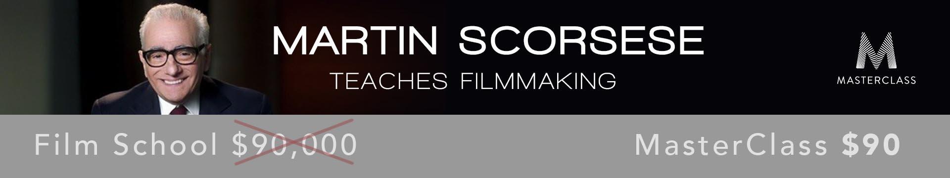 Master Class Banner Scorsese