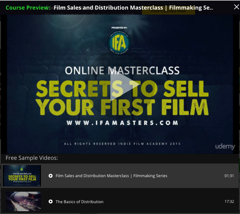 IFA Master Class Screen Shot