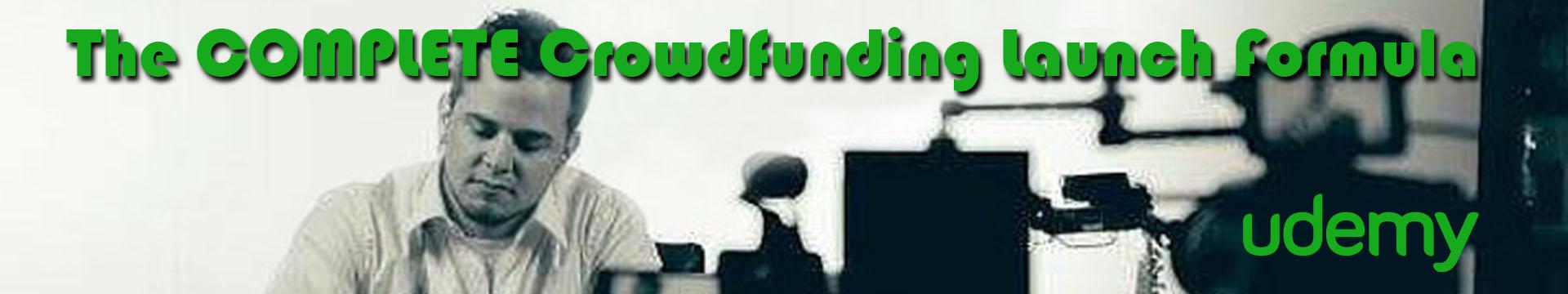 Udemy Crowdfunding Banner