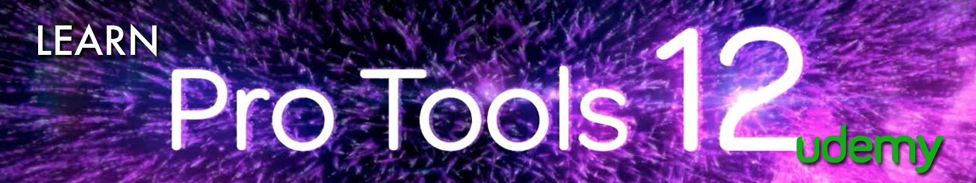 Udemy Pro Tools Banner