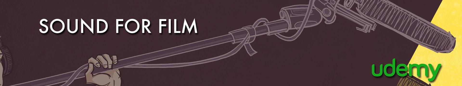 Udemy Sound for Film Banner