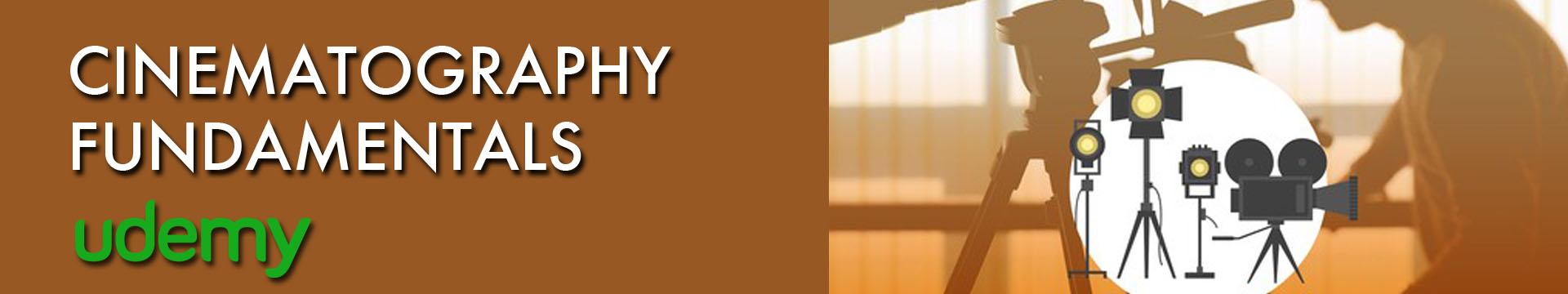 Udemy Cinematography 02 Banner