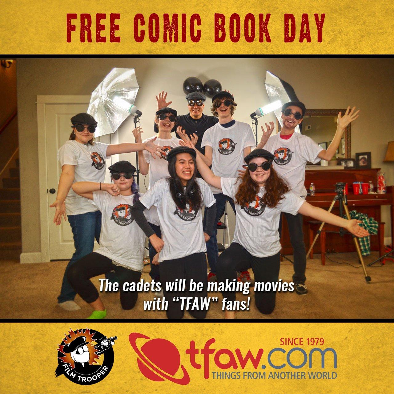 FTA Comic Book Instagram Ad
